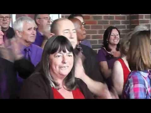 The Big Sing.....Maldon Cancer Research Charity Event 2012.....Celebration