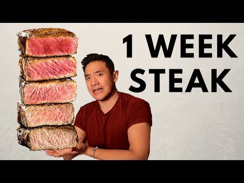 I ONLY ATE STEAK FOR A WEEK