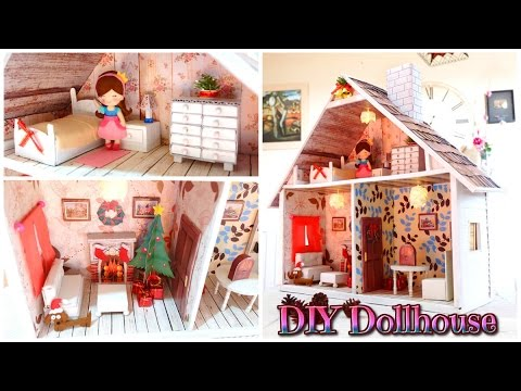 Diy Crafts Make Your Dollhouse Handmade Isa Youtube