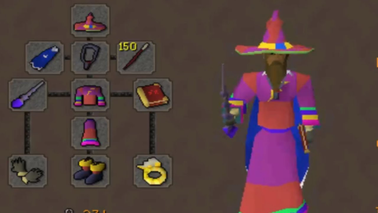 FULL INFINITY PKING (Kodai Wand & Dragon Claws)