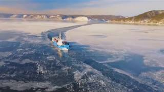 Иркутск, Листвянка, Байкал - зима