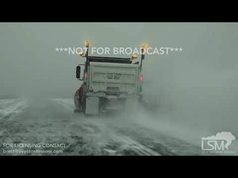 2017-12-20 Minot, ND - Dangerous Holiday Travel Blinding Snow