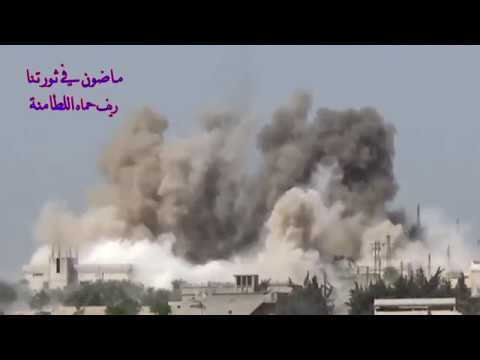 Russian strikes at terrorists in Syria 1.01.18
