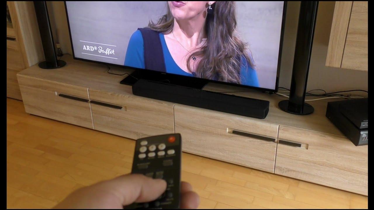 yamaha yas 306 musiccast 7 1 soundbar youtube. Black Bedroom Furniture Sets. Home Design Ideas