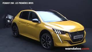 Peugeot 208 2020 - Les Premières Infos