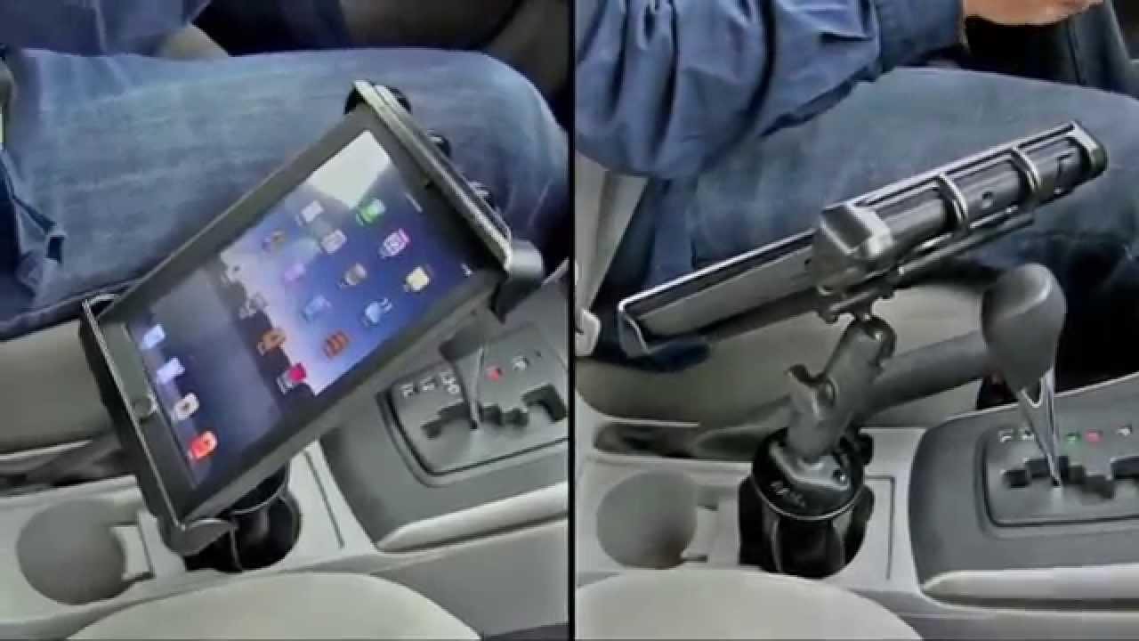 tablet car mount ram tablet vehicle mount youtube. Black Bedroom Furniture Sets. Home Design Ideas