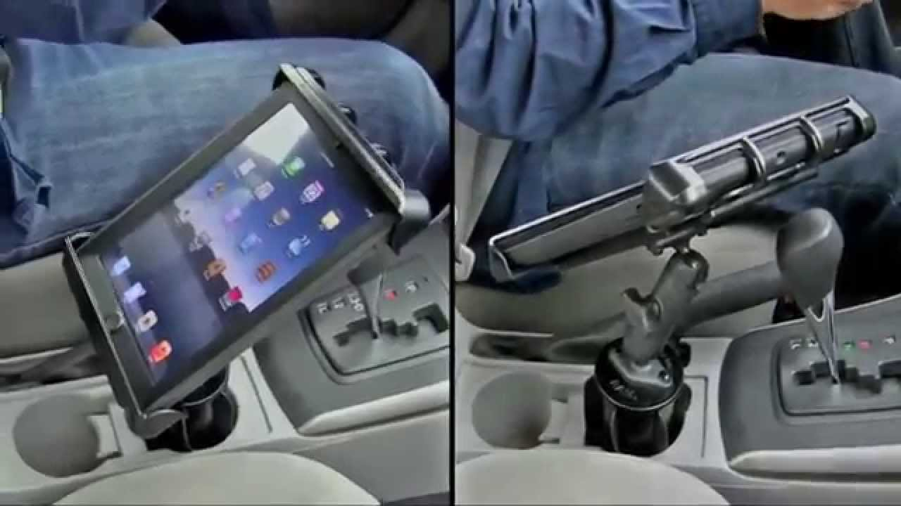 Tablet Car Mount Ram Tablet Vehicle Mount Iboats Com Youtube