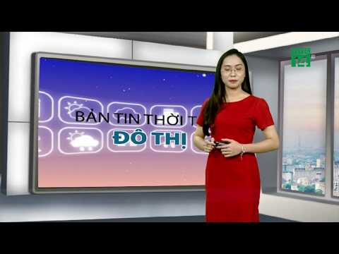 Thời tiết đô thị 19/08/2019: Hà Nội mưa xảy ra gián đoạn, quý vị nên mang các vật dụng che mưa|VTC14