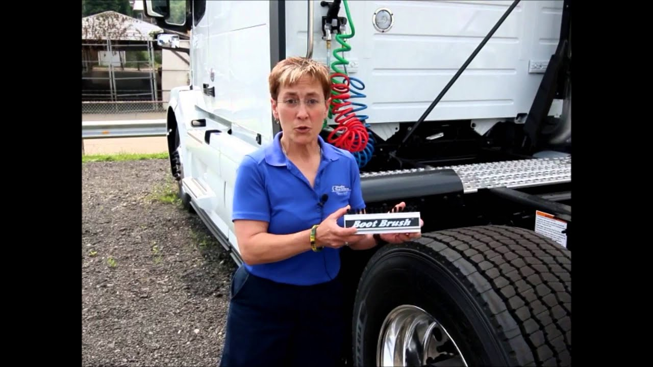 Boot Brush Tools For Truckers - YouTube
