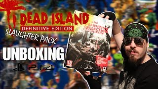 Dead Island Definitive Edition Slaughter Pack PS4 Unboxing | Power Metal Gamer