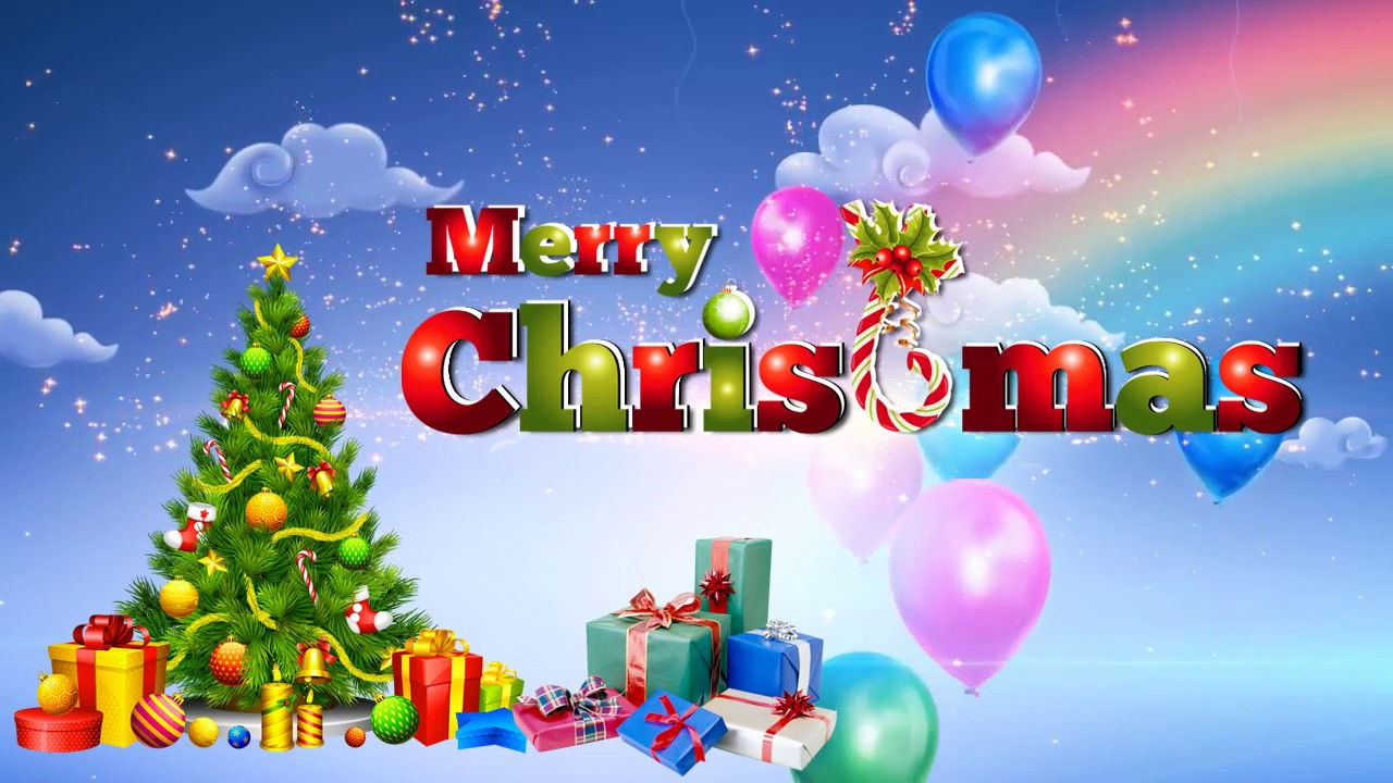 happy christmas wishes free hd video downloads - youtube
