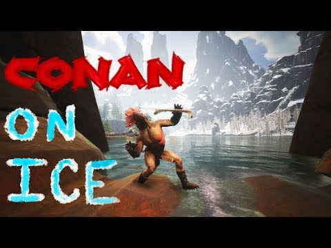 Conan on Ice: Bootleg Ninja Warrior Simulator 2017