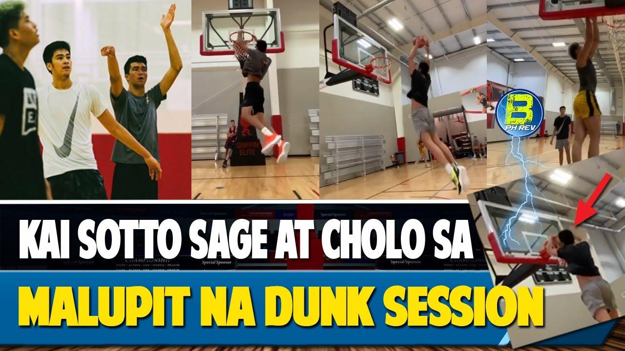 Pagbabalik ni Sage Dunk Session agad | Para saan ba ang Dunk Workout nila?