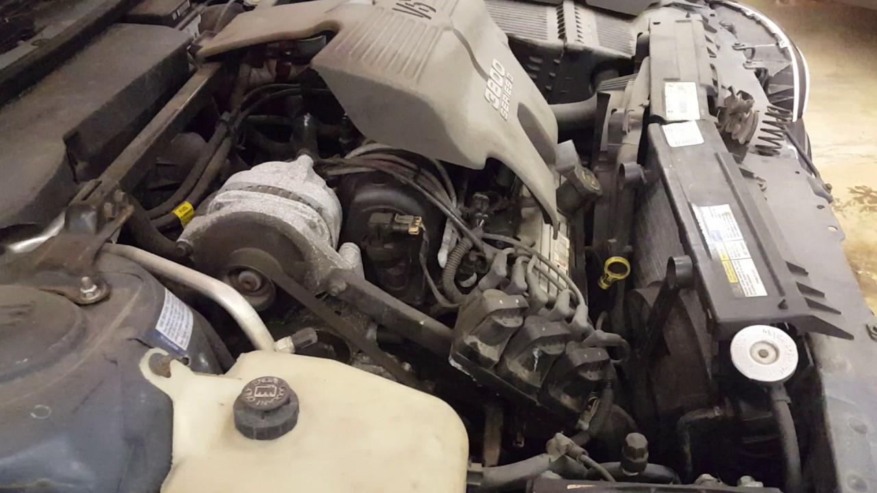 Cp0285 - 1997 Buick Lesabre Custom - 3 8l Engine