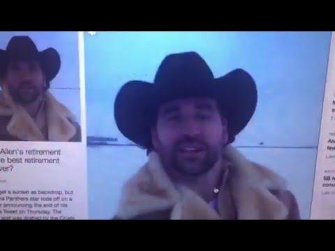 Jared Allen Retires On Twitter Rides Off On Horse