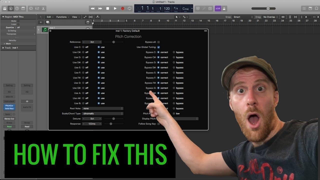 Plugin Not Loading Properly - Logic Pro Tutorial #40