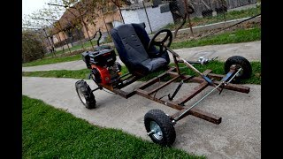 Homemade Go Kart 200cc !?  PART 1