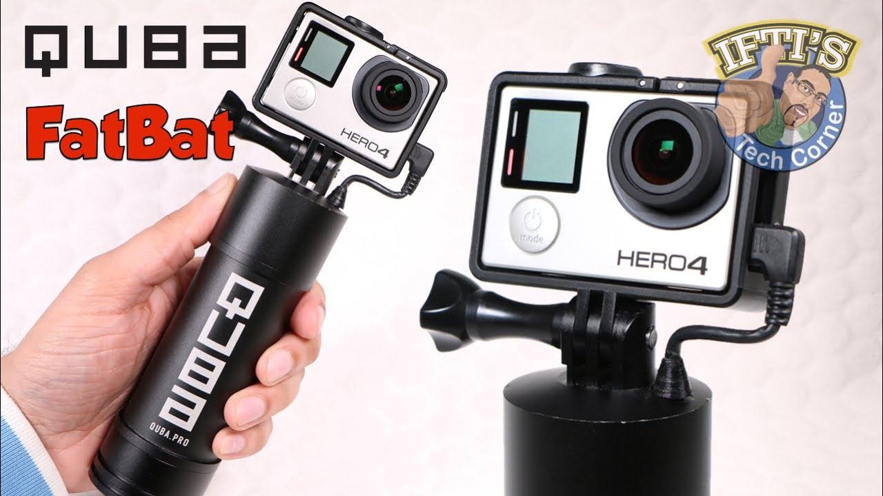 4481fdea3df70d Quba Pro FATBAT - Battery Powered GoPro Handgrip + More!! REVIEW ...