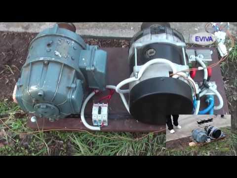 Free Energy Motor   Generator QMOGEN 1KWATT EVIVA unit from Kiev Ukraine