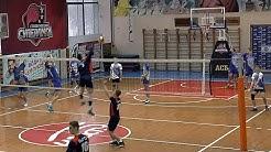 Студенческая волейбольная лига. Россия. Нападающий удар. ПГУАС Пенза vs ОмГТУ Омск. #2