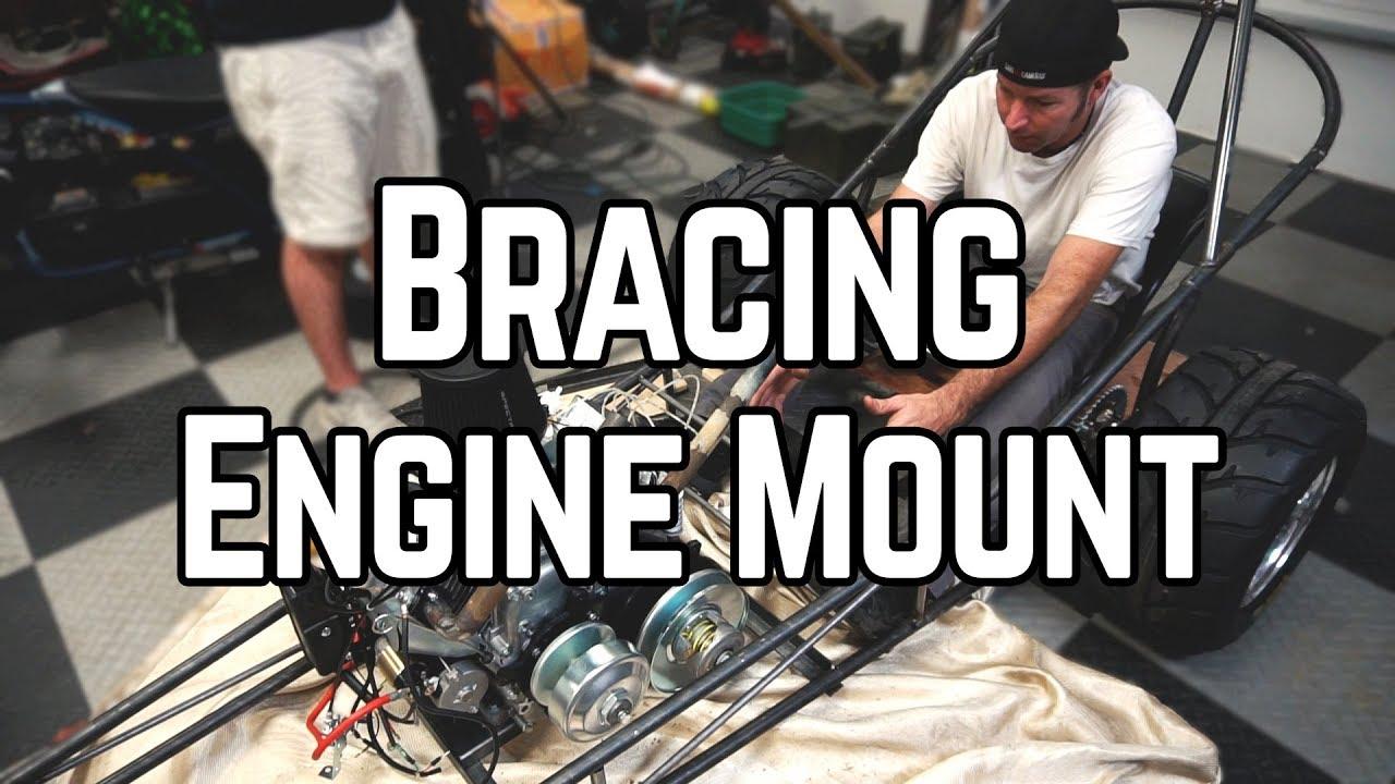 Predator 670cc Dragster Build Pt  6