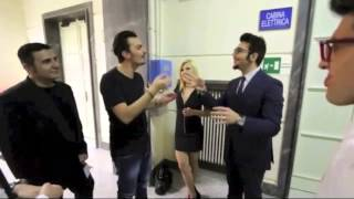 Il Volo on Ballando con Le Stelle - backstage