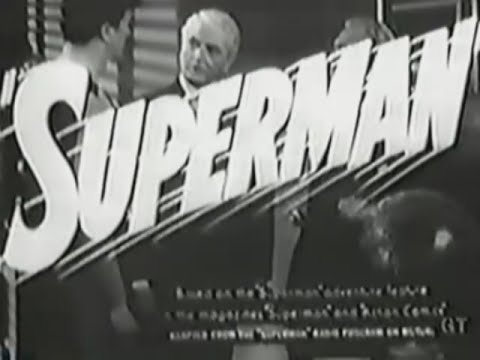 """Superman"" Movie Serial Trailer (1948)"