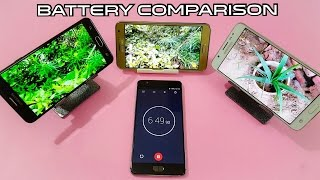 Samsung J7 Prime vs J7 2016 vs J7 4G Battery Comparison | Best Comparison
