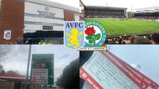 Blackburn Rovers V Aston Villa :The Villain Vlog 03