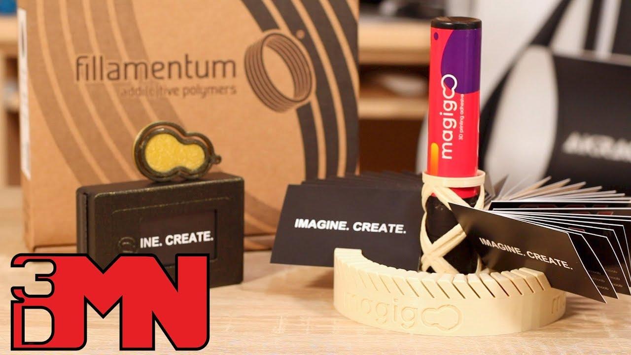 3d Printed Corporate Gift Ideas - Magigoo Contest Winners