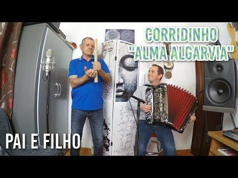 Corridinho Alma Algarvia | Pai e Filho | Pai na cana rachada e filho no acordeão