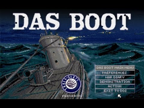 Das Boot: German U-Boat Simulation (PC/DOS) 1990, Three-Sixty Pacific, Inc