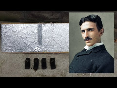 Nikola Tesla - Free Energy (fuel free system - How does it works?)