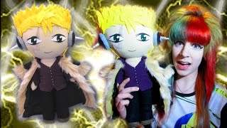 HOW TO MAKE A PLUSHIE COAT! Fairy Tail Laxus plushie-Tutorial by Cloctor Creations