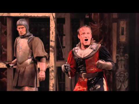 "Globe Theatre 2013 Henry V - ""Once more unto the breach..."""