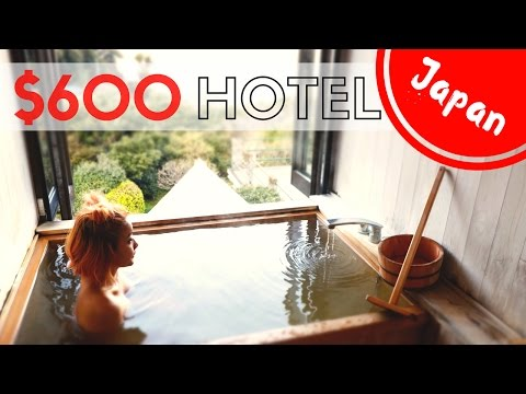 $600 Luxury HOTEL in JAPAN | In-Room Private Onsen