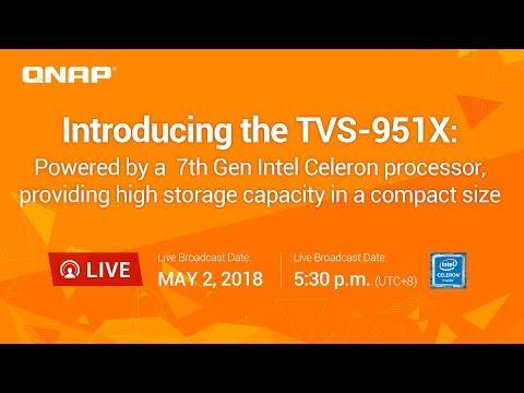 Qnap TVS-951X 9-Bay Multimedia NAS w/ 8GB RAM - Network