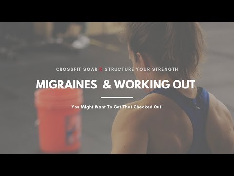 Migraines While Working Out?