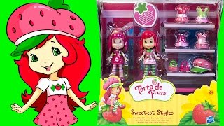 Strawberry Shortcake Sweetest Styles Wardrobe Playset Play Doh Clothing Outfits Hasbro Toys