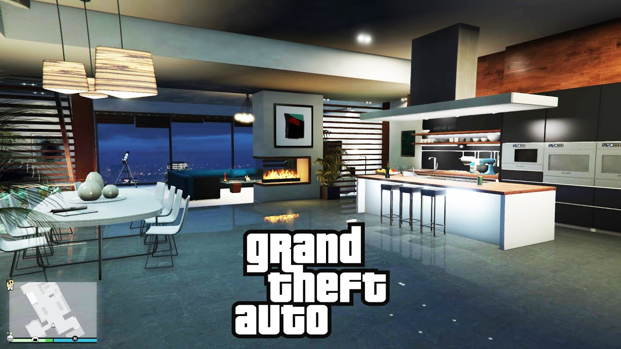 Best Apartment Review & Location GTA 5 Online BEST HIGH END APARTMENT & GARAGE NEW!