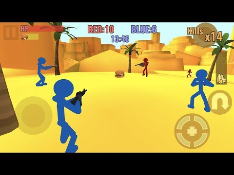Stickman Counter Zombie Strike Android Gameplay