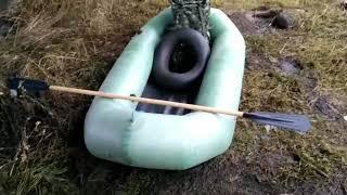 Обзор лодки лисичанка Єрлан, та сплав річкою Ірпінь