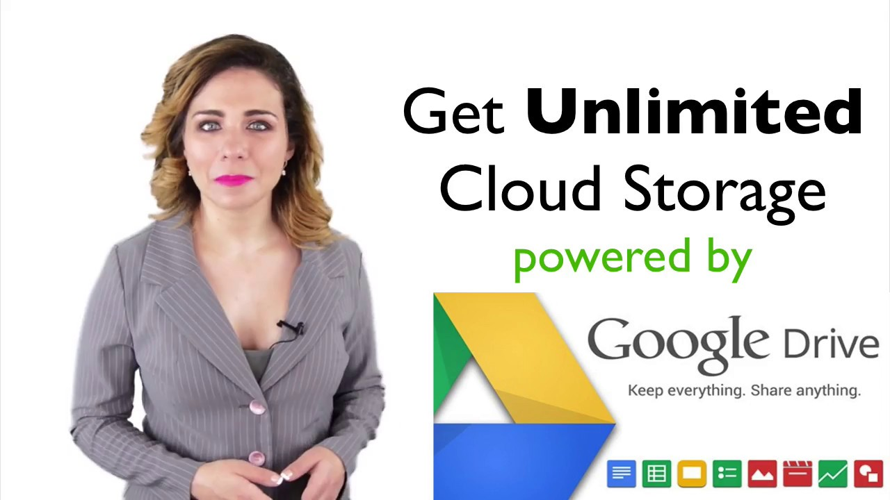 GCloudDrive - Unlimited Cloud Storage powered by Google