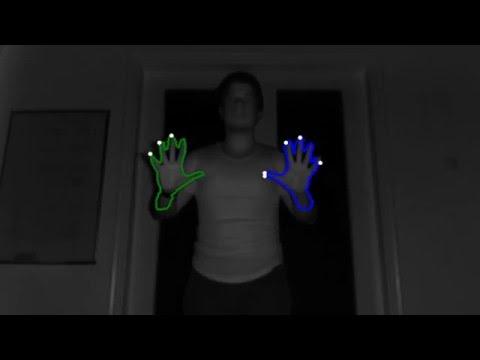 Finger Tracking using Kinect v2