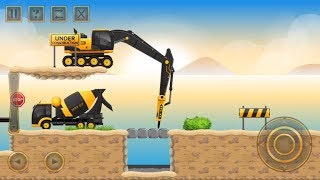 Construction City 2 - Truck, Crane - The Docks Walkthrough | Android Gameplay | Droidnation