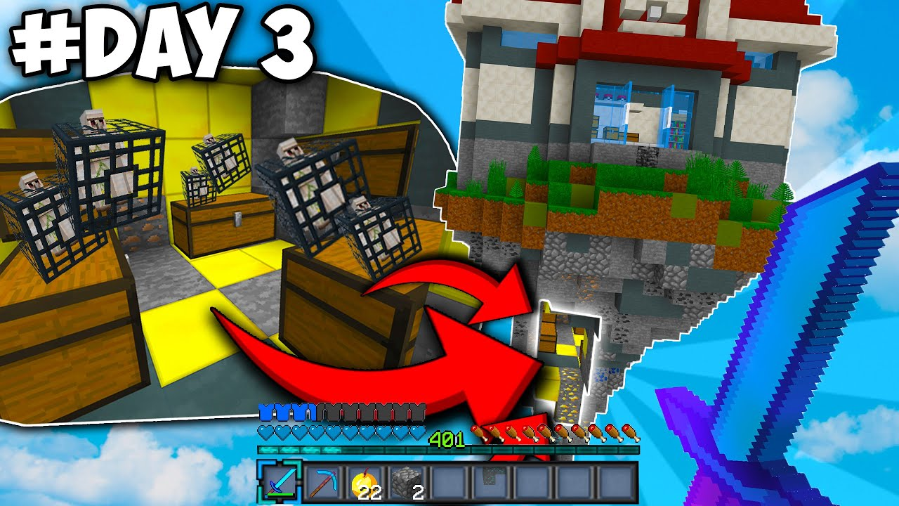 I HID THIS FROM EVERYONE!   Minecraft Skyblock - YouTube