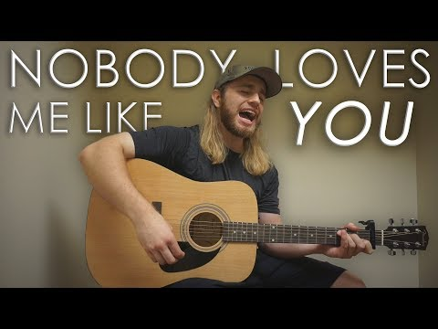 Nobody Loves Me Like You - Chris Tomlin   (Acoustic Cover by Zach Gonring)