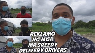 delivery riders ng mr speedy nagreklamo