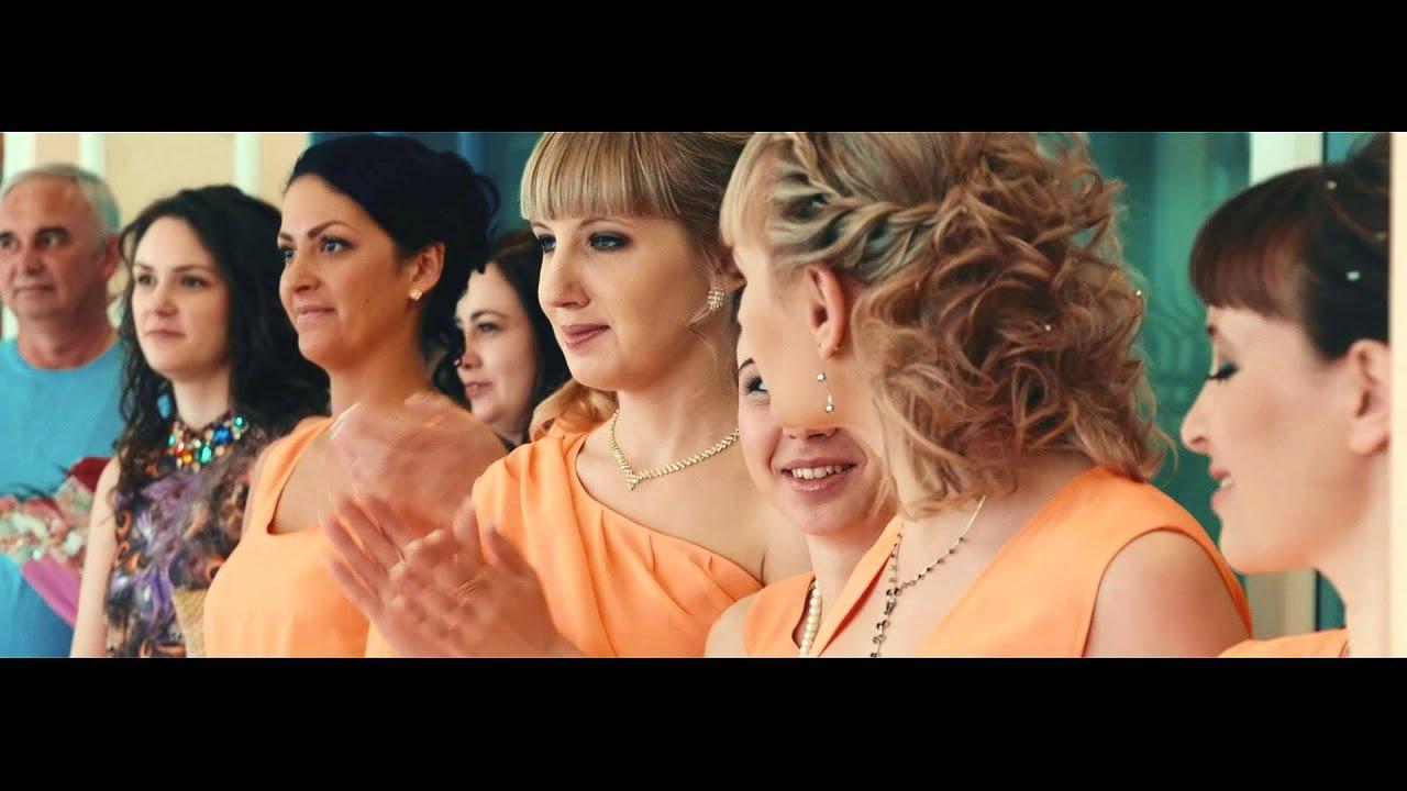 Алексей и Ангелина!Оранжевая свадьба!