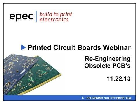 Re-Engineering Obsolete Printed Circuit Boards Webinar